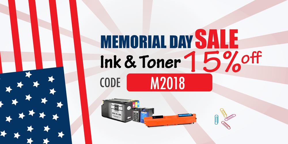 Memorial Printer Ink Cartridge and Toner Cartridge For Sale