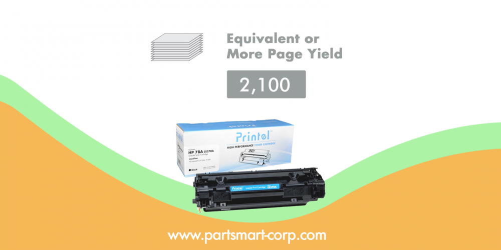 HP 78A CE278A Toner Cartridge cost saving