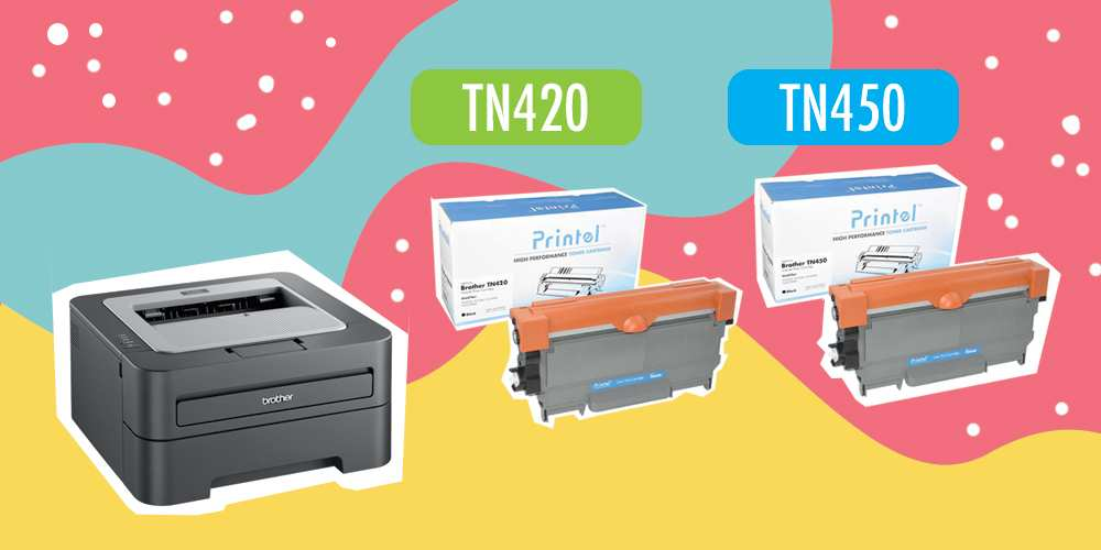 Brother HL 2240 Printer and TN420 TN450 Toner Cartridge Review