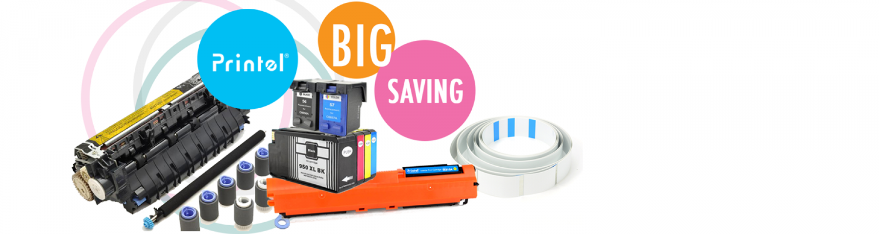 Save up to 40% on Printer Ink Cartridges and Toner Cartridges
