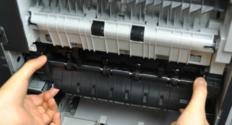Install RM1-8395 fuser for HP LaserJet Enterprise 600 M601 printers
